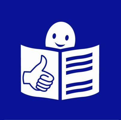 Bild zeigt: Das europäische Easy-to-read Logo - Copyright: Inclusion Europe