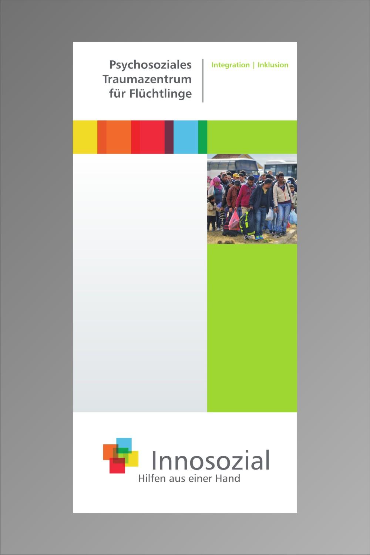 Bild zeigt: Flyer vom Fachdienst mit Link zur PDF