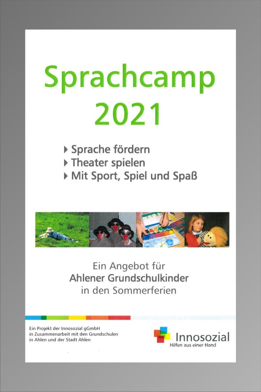 Bild zeigt: Flyer vom Projekt mit Link zur PDF