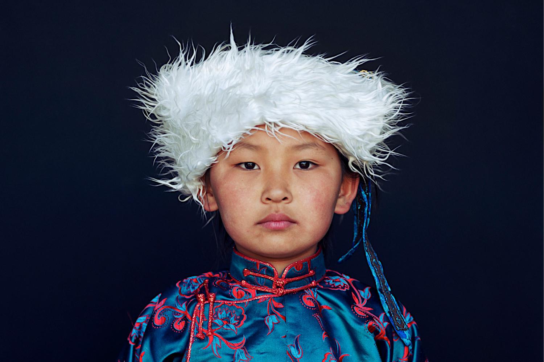 Bild zeigt: Mädchen aus der Mongolei als Symbol für das Museum der Menschheit
