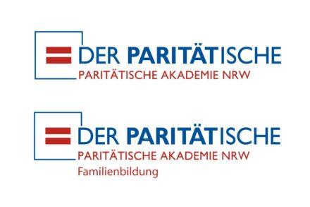 Bild zeigt: Beide Logos übereinander von der Paritätischen Akademie und der Paritätischen Familienbildung