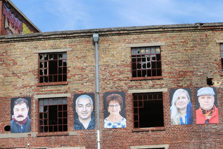 Bild zeigt: Portraits von Ruben Timman an der Ruine
