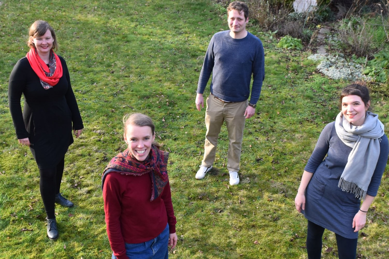 Bild zeigt: Team mit 4 Personen von VARIA für Sexpädangebote