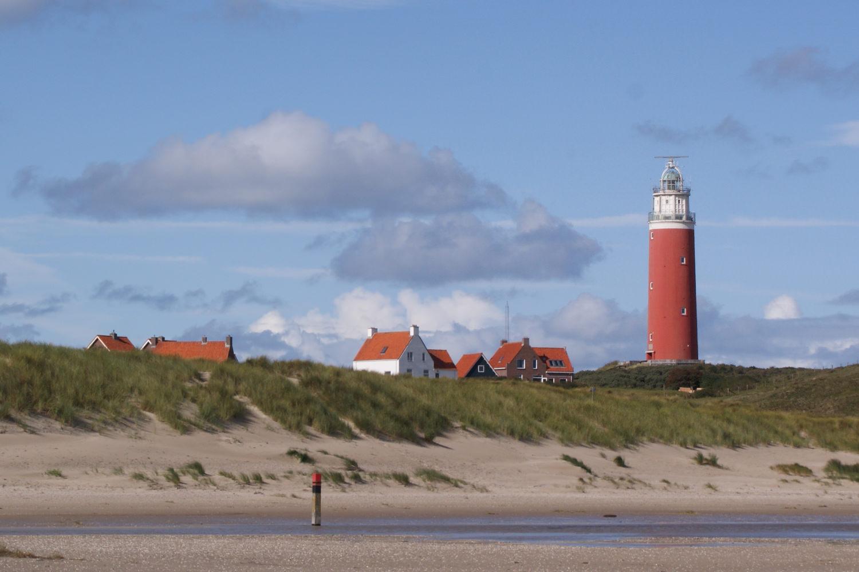 Bild zeigt: Leuchtturm auf der holländischen Insel Texel